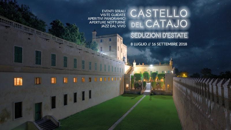 CASTELLO DEL CATAJO: SEDUZIONI D'ESTATE 2018