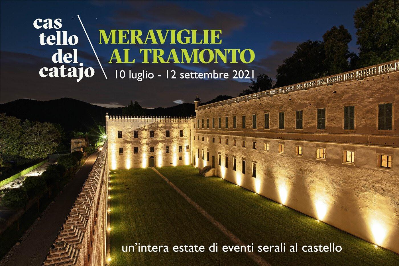 You are currently viewing MERAVIGLIE AL TRAMONTO. ESTATE 2021 AL CATAJO.
